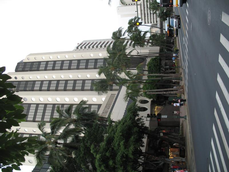 Waikiki Trade Center - Kuhio Ave Elevation #2