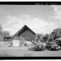 Moanalua Community Church - Exterior - Front Elevation