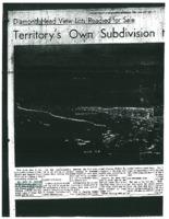 Diamondhead View Lots Newspaper Research.PDF